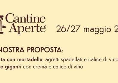Special Opening 26-27 Maggio Osteria il Sagrantino @cantineaperte