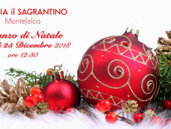 25 Dicembre 2018 – Pranzo di Natale a Montefalco