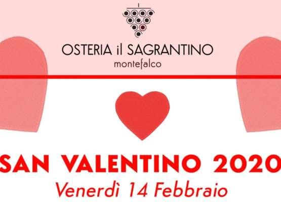 Cena di San Valentino – 14 Febbraio 2020