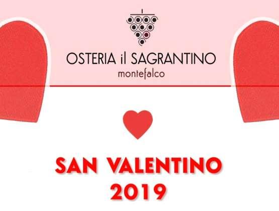 Cena di San Valentino – 14 Febbraio 2019