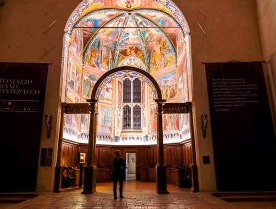 Visita il Museo di San Francesco di Montefalco