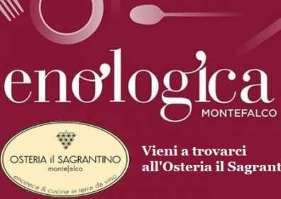 Enologica a Montefalco – Dal 13 al 15 Settembre 2019