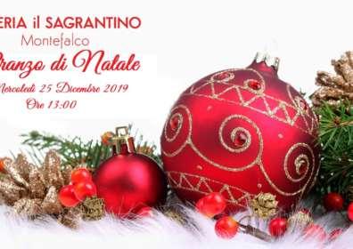 Pranzo di Natale a Montefalco – 25 Dicembre 2019